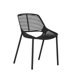 Black Side Chair Seat Covers Wedding Niwa Chairs Janus Et Cie