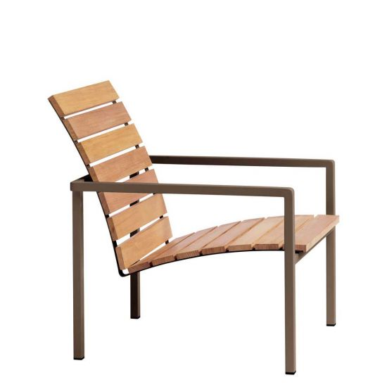 teak lounge chair stokke high red natal alu earth chairs janus et cie