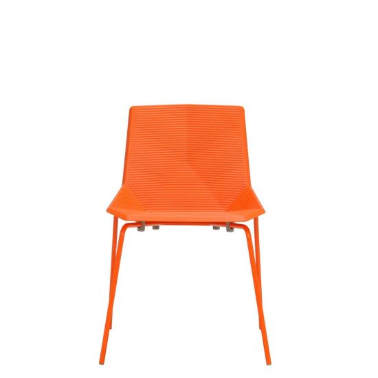 orange side chair best gaming for adults green 2 0 chairs janus et cie