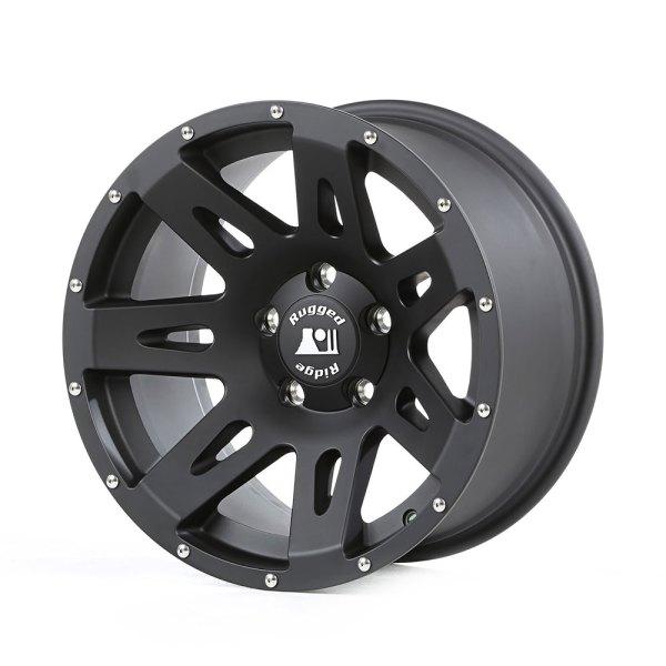 Jeep Wrangler Aluminum Wheels