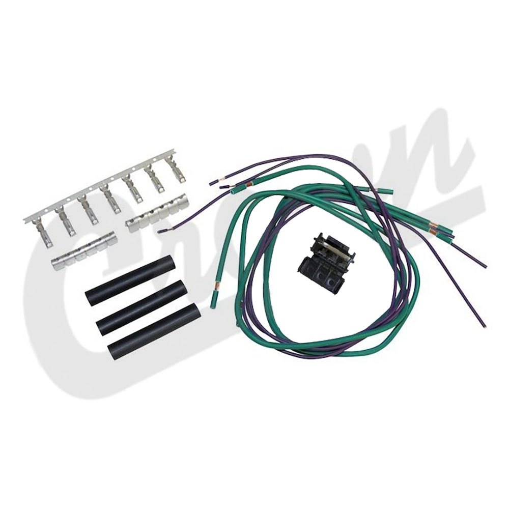 hight resolution of jeep tj wrangler wiring harness repair kit