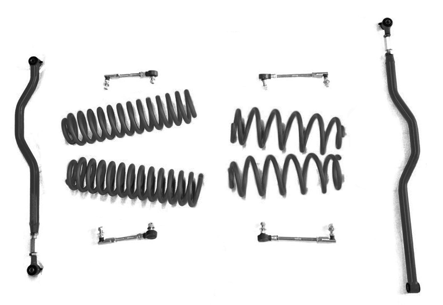 2.5 inch Basic Lift Kit Jeep JK Wranglers Black J0046692