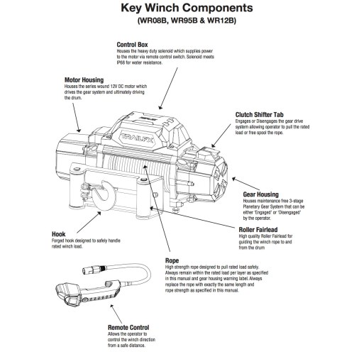 small resolution of 12 volt remote control winch wiring diagram