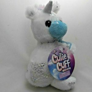CUTIE CUFF UNICORN PLUSH SLAP BAND BRACELET