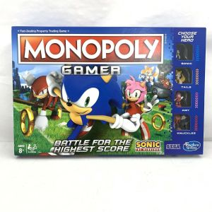Monopoly Gamer Sonic the Hedgehog Board Game – Used Very Good Condition
