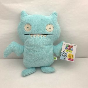 "13"" Light Blue Ice-Bat UglyDolls Plush Artist Series 2019 Hasbro Cute Pillow NEW"