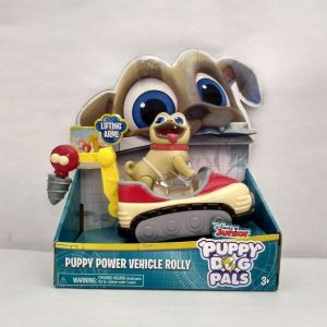 Disney Junior Puppy Dog Pals Power Vehicle Rolly & Bingo New