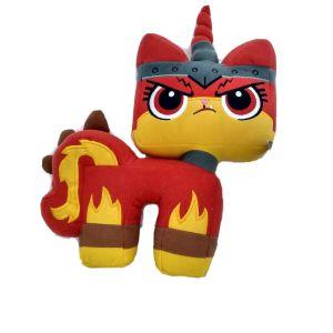 The Lego Movie 2:Angry Uni Kitty Plush (2018) Manhattan Toy Stuffed Animal New