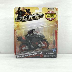 GI Joe Retaliation Ninja Speed Cycle With SNAKE EYES Action Figure NIB