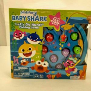 Baby Shark Let's Go Hunt Fishing Game With Baby Shark Song New
