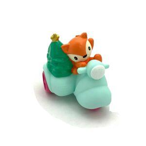 Infantino GoGaGa Merry Mover Car Fox Squirrel Christmas Tree In Trike Baby Toys