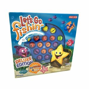 Let's Go Fishing Deep Sea Deluxe Edition Game. Race To Catch The Most Fish.