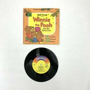 Winnie the Pooh and the Honey Tree book record Disneyland records 1966 33-1/3rpm