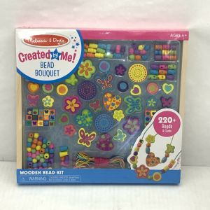Melissa & Doug Bead Bouquet Deluxe Wooden Bead Set