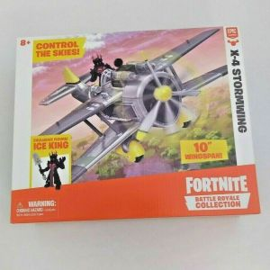 Fortnite X-4 Stormwing Plane & Ice King Figure –  Battle Royale Collection