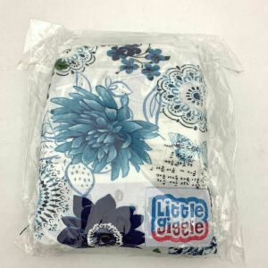 Little GIGGLE MULTI-USE Baby Car Seat Cover little giggle Blue butterfly stretch