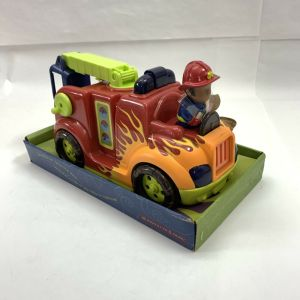 B. Fire Flyer Models Fire Truck New in Box  Lights and Sounds