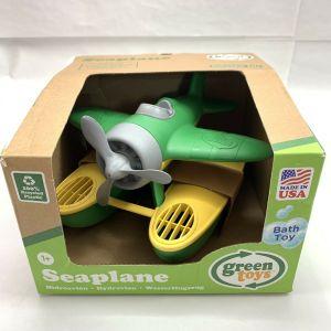 Green Toys Bathtime toy Green Seaplane – BPA Phthalate PVC Free Floatplane