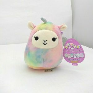 Squishmallows By Kellytoy Rainbow With Silver Wings