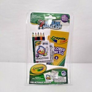 World's Smallest CRAYOLA COLORING SET Miniature Pocket Size Fun