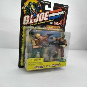 Gi Joe Vs Cobra Duke Vs Ripper Action Figures 2002 Hasbro MOC