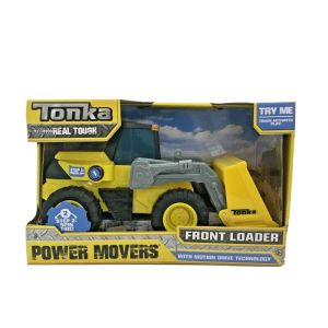Tonka Real Tough Front Loader Power Movers Ages 3+ Motion Drive Technology