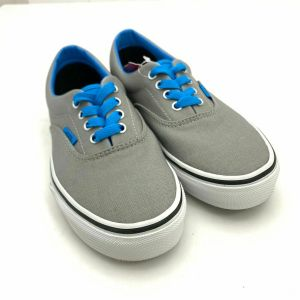 Vans Kids Era Pop Lace Up Shoe, Frost Gray  Dresden Blue, Big Kids Size 3.5 NEW!
