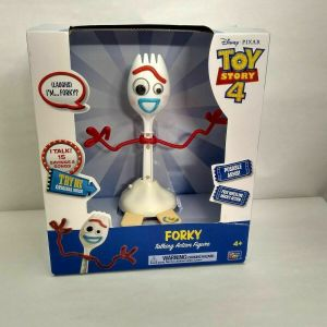 "Disney Pixar Toy Story 4 FORKY 8"" Talking Free Wheeling Action Figure 2019"