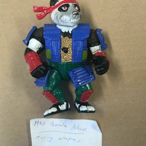 TMNT Panda Khan 1990 Action Figure – Mutant Ninja Turtles