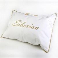 Linenmill Siberian White Goose Down Pillow | shoplinens.ie