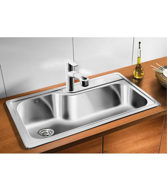 Lavelli Cucina Acciaio Inox Interesting Lavello Angolare A Vasche Da Cucina In Acciaio Inox
