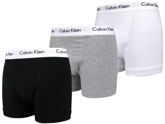 Calvin Klein 3pcs Box set Underwear