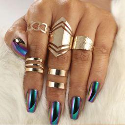 Golden Rings Set