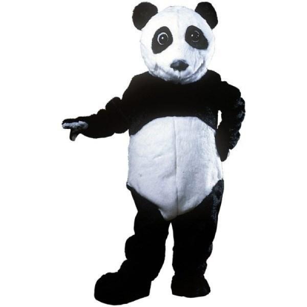 Panda Bear Mascot Costume Free Shipping