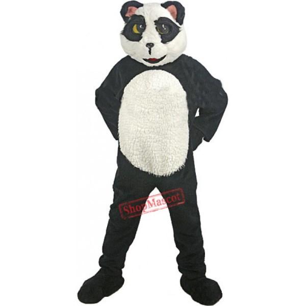 Deluxe Panda Bear Mascot Costume