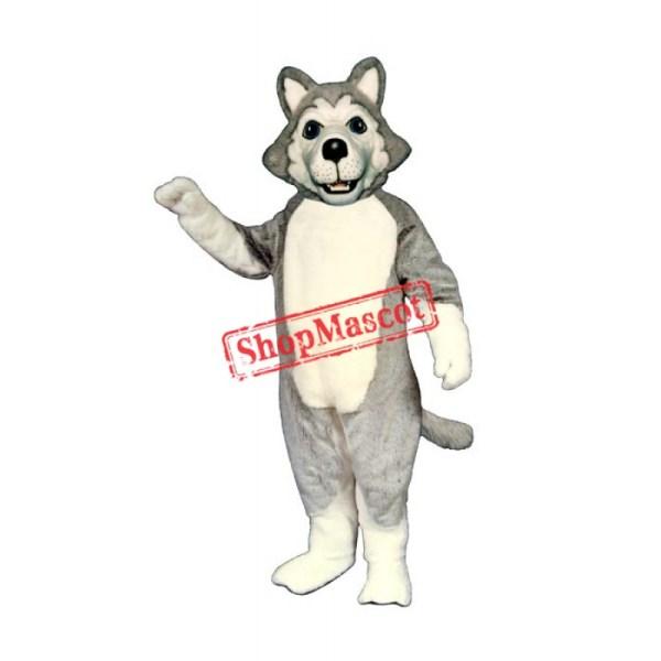 Wolf Dog Mascot Costume