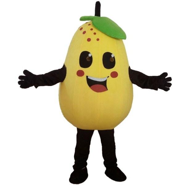 Pear Mascot Costume Fruits Vegetables