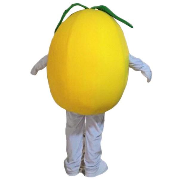 Yellow Pear Mascot Costumes Free Shipping