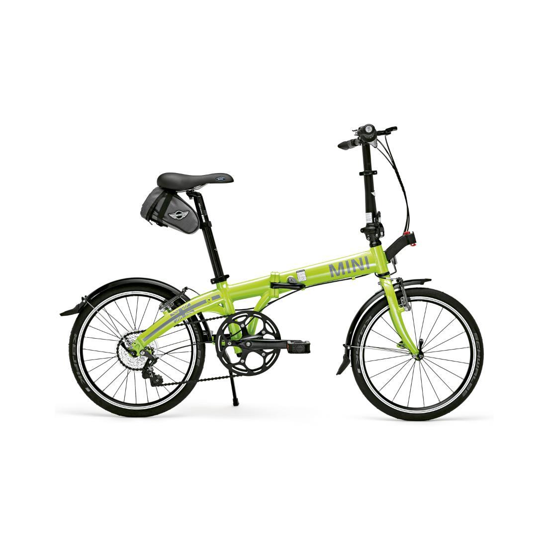 ShopMINIUSA.com: MINI Folding Pocket Bike Lime