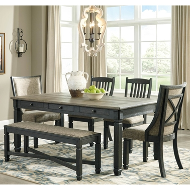 Signature Design By Ashley Tyler Creek 6 Pc Dining Room