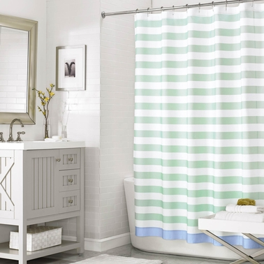 Martha Stewart Collection 72 X 72 Beach House Stripe Shower