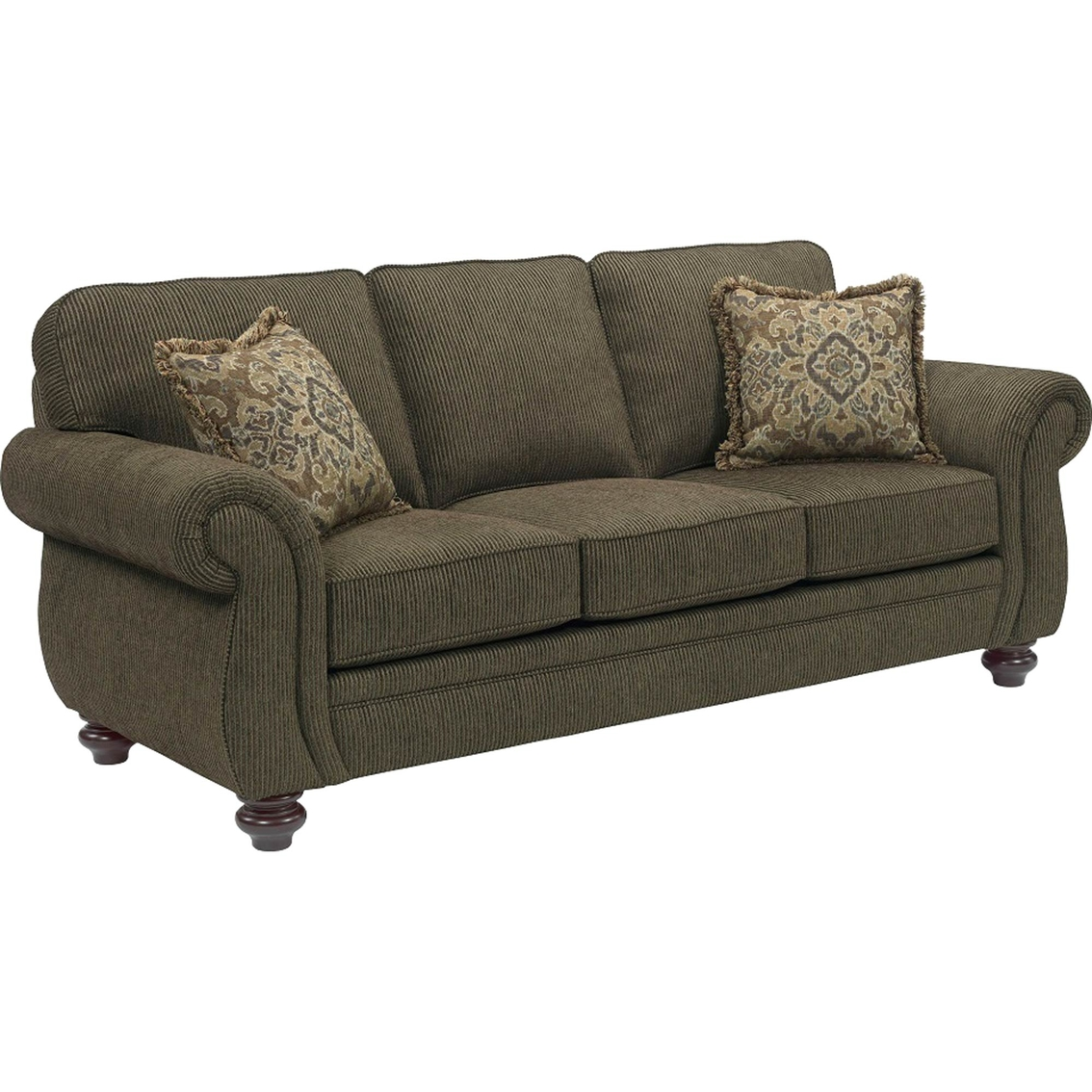 broyhill sleeper sofa leather sectional with cassandra queen sofas and couches