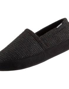 Isotoner men   evan houndstooth aline slippers also shoes rh shopmyexchange