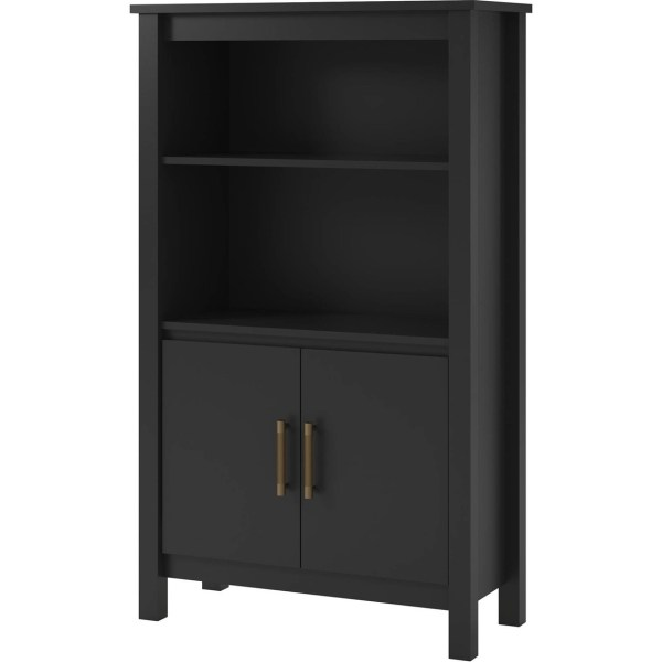 Ameriwood Home Eastwood 3 Shelf Bookcase With Doors Bookcases & Cabinets Appliances