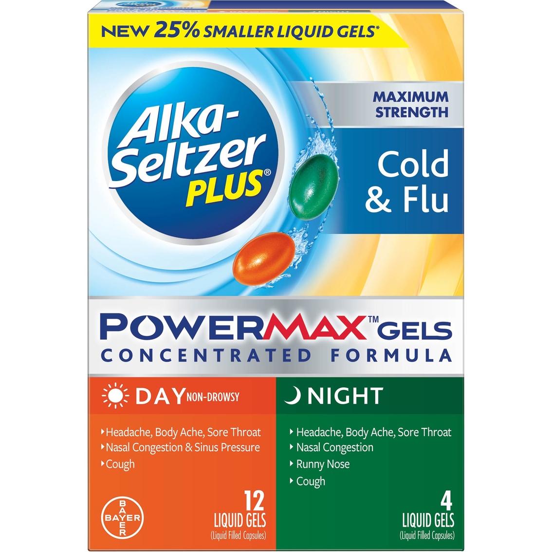 Alka-seltzer Plus Maximum Strength Cold & Flu Powermax ...