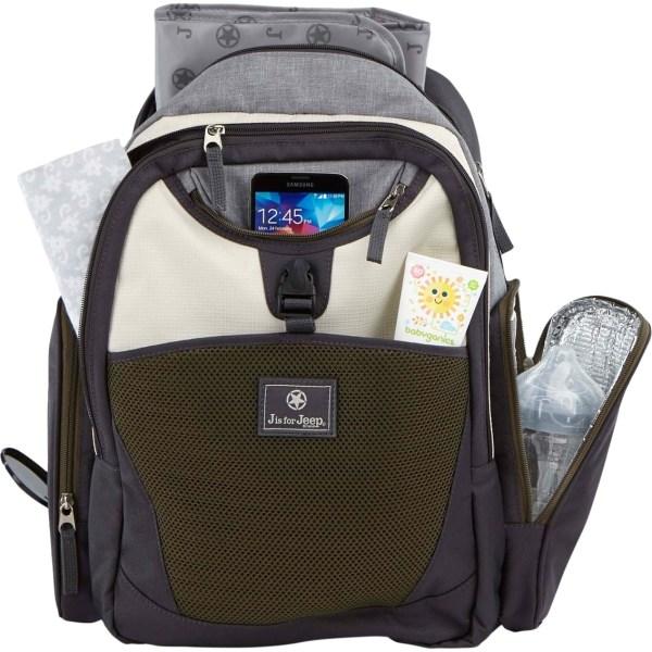 Jeep Adventurer' Backpack Diaper Bag Bags