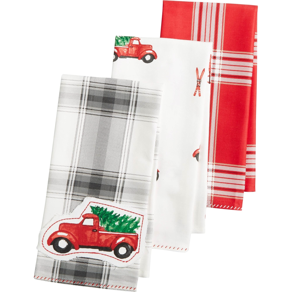 martha stewart kitchen towels design layout ideas collection 3 pc holiday towel set