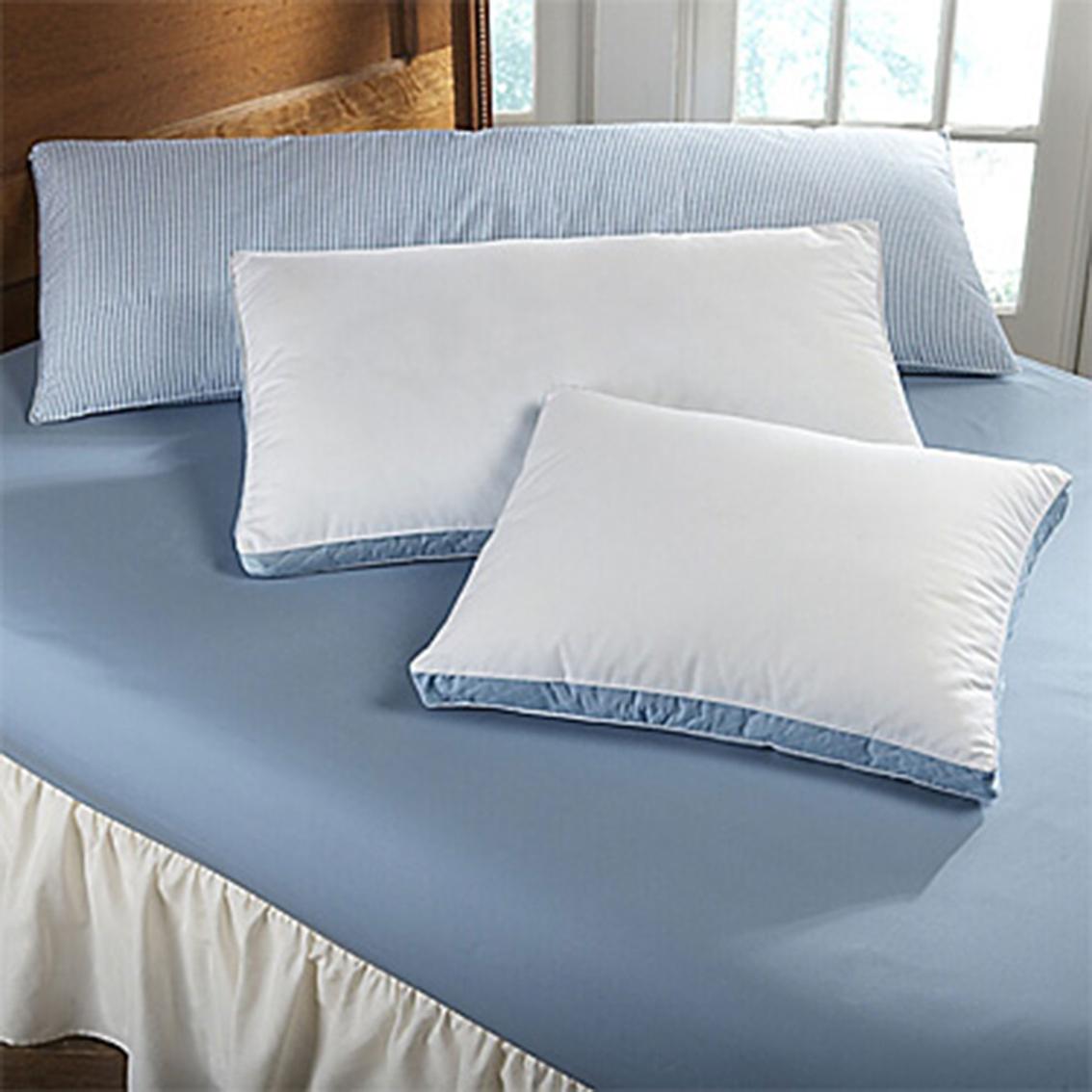 weatherford micro denier down alternative pillow