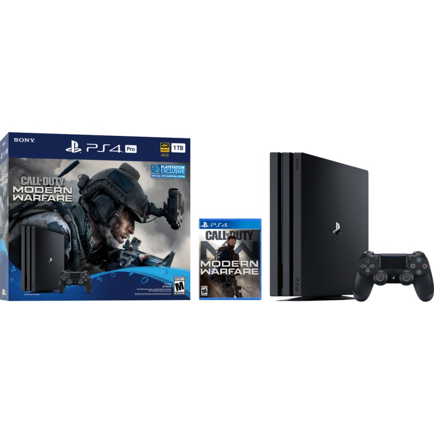 Playstation Ps4 Pro 1tb Call Of Duty Modern Warfare Bundle Ps4 Consoles Electronics Shop The Exchange