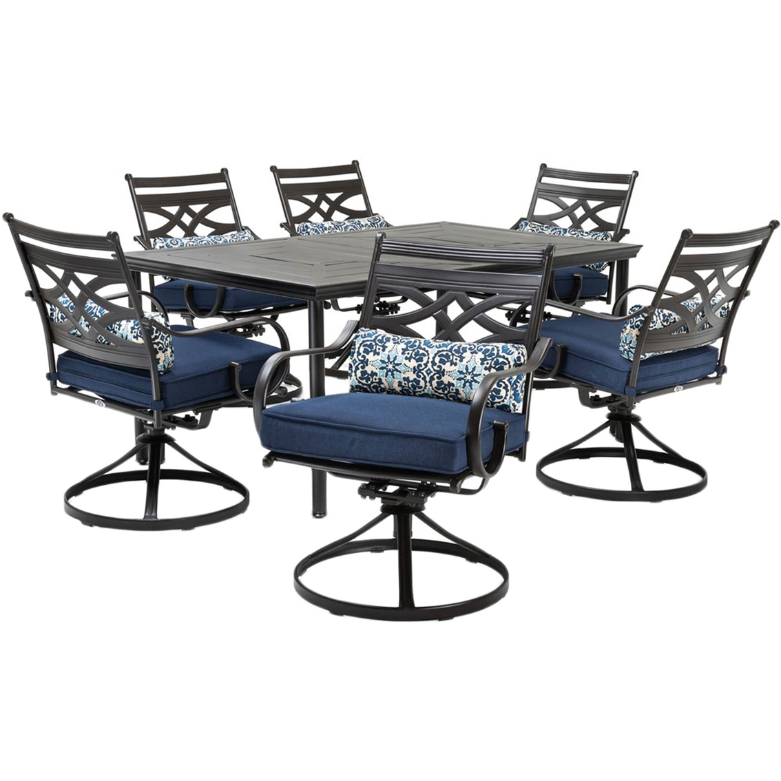 hanover montclair 7 pc patio dining